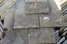 Reclaimed Concrete Pan Tiles