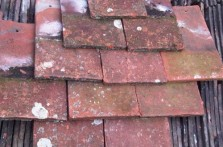 Reclaimed Handmade Red Clay Tiles
