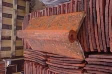 Reclaimed Roll Top Ridge Tiles