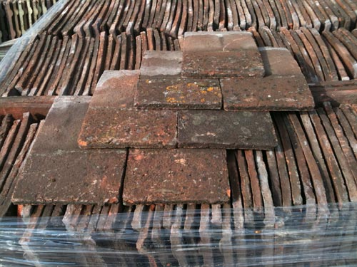 Reclaimed Swallow Brown Roofing Tiles