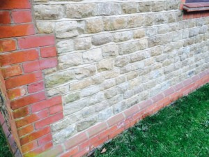 Reclaimed Bargate Walling Stone